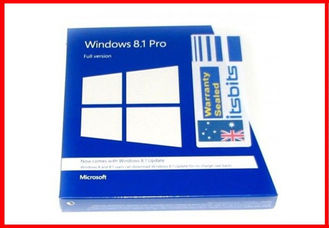 Cina Versi Penuh Microsoft Windows 8.1 Activation Key, Windows 8.1 Coa Sticker pemasok