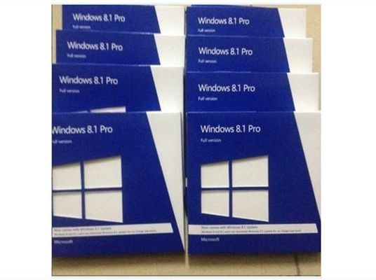 Perangkat Lunak Komputer Windows 8.1 Pro Kotak Ritel Microsoft OEM System Builder License