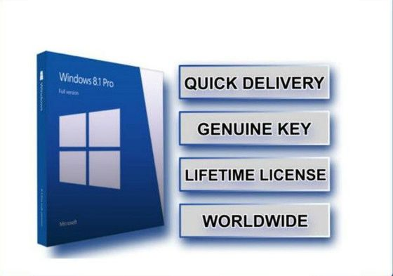 Asli Microsoft Windows 8.1 Professional 32bit 64bit OEM Genuine Key