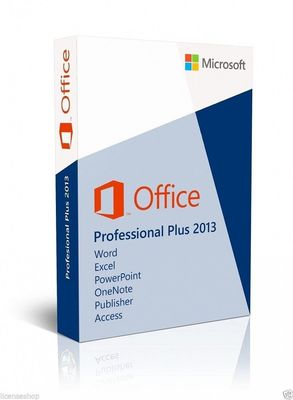 Cina Sealed English Microsoft Office 2013 Kotak Ritel 32/64 Bit DVD And Key pabrik
