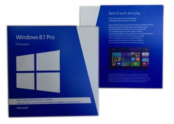 Full Version Windows 8.1 Pro Kotak Ritel Dengan Sistem Operasi Lifetime Warranty